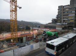 Baustelle Campus Grifflenberg
