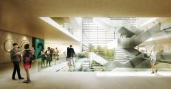 Innenansicht des Neubaus © SOP Architekten Düsseldorf