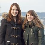 Diesmal OnAir: Lisa Jülich (links) und Lisa Scheidat (rechts) © vk
