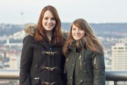 Lisa Jülich (links) und Lisa Scheidat (rechts) © vk
