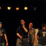 Auftritt beim Wortex Poetry Slamn © Wuppertaler Wortpiraten