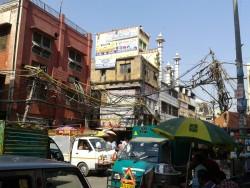 Eine Straße am Chawri Bazar © Julia Wessel