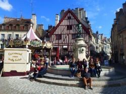 Der Place François-Rude in Dijon © Sandra Peloso