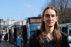 AStA-Referent Lukas Vaupel erklärte blickfeld gegenüber die neue Ticketpraxis © mw
