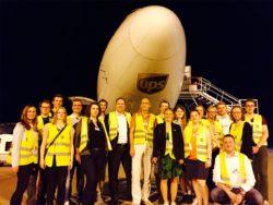 Ausflug zur UPS-Zentrale am Flughafen Köln/Bonn © bdvb HSG Wuppertal