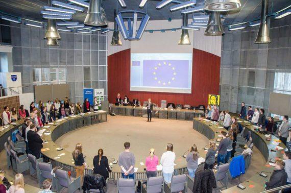 Simulation des Europäischen Parlaments
