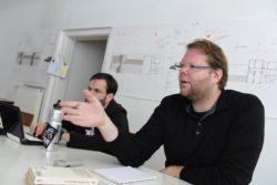 Diskussion in der IG Fahrradstadt © Joachim Busch