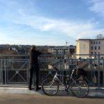 Lohnt sich an allen Tagen: Eine Fahrt über die Nordbahntrasse bei toller Aussicht © chs
